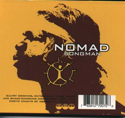 NOMAD:SONGMAN CD cover